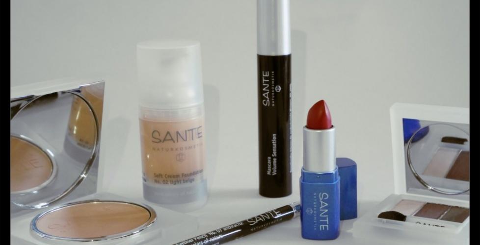 """J&rsquo;ai testé&#8230; Le maquillage <font size=""""5"""">SANTE NATURKOSMETIK</font>"""