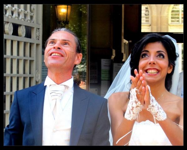 """<font size=""""6"""">MARIE-ROSE</font>, la mariée"""