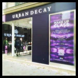 """Boutique <font size=""""6"""">Urban DECAY</font> …."""