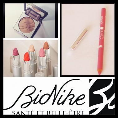 """Une jolie marque de cosmétique&#8230;<font size=""""6"""">BIONIKE</font>&#8230;"""