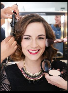 """Attention concours de maquillage ! organisé par l'école <font size=""""6"""">Elysées Marbeuf</font> !"""