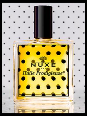 """<font size=""""6"""">Huile Prodigieuse</font> de chez Nuxe s'habille en Plumetis"""
